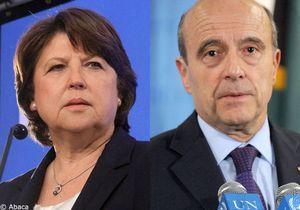 Matignon : Martine Aubry et Alain Juppé favoris des Français