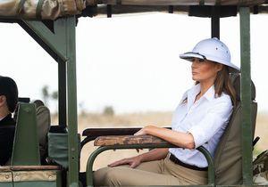 Melania Trump en visite au Kenya : sa tenue coloniale fait polémique