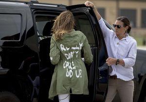 Melania Trump : pourquoi sa veste polémique a choqué le monde entier