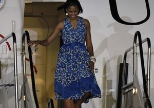 Michelle Obama : son premier voyage officiel sans Barack