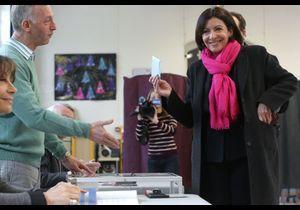 Municipales : Anne Hidalgo et NKM ont voté