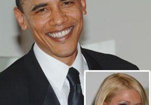 Obama, un air de Paris Hilton ?