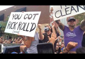 #PrêtàLiker : comment les Foo Fighters ont interrompu une manifestation homophobe