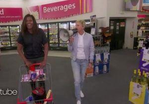 #PrêtàLiker : la folle virée de Michelle Obama et Ellen DeGeneres dans un supermarché