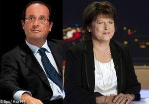Primaire PS : Hollande toujours en tête, Aubry progresse
