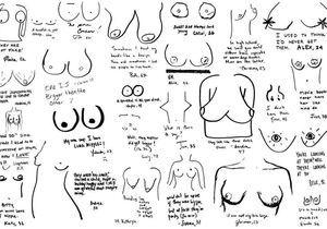 Quand les femmes dessinent leurs seins pour se libérer des standards
