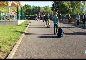 Retour en classe : reportage dans une école d'Alsace