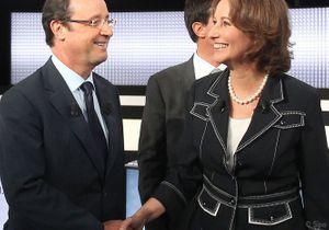 Ségolène Royal apporte son soutien à François Hollande