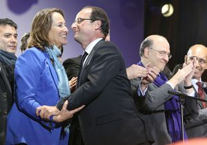 Ségolène Royal et François Hollande plus complices que jamais