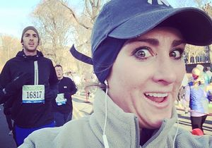 Ses selfies au semi-marathon de New York font sensation