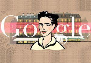 Simone de Beauvoir star de Google