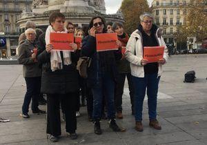 #SoyezAuRDV : on était au rassemblement pour interpeller Macron sur les violences faites aux femmes