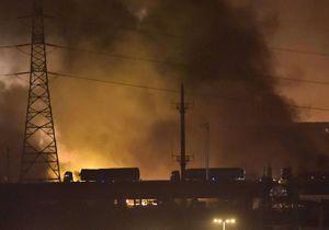 Tianjin : les impressionnantes images de l'explosion en Chine