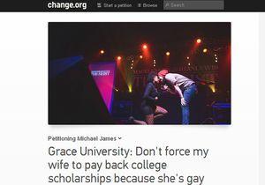 USA : une fac réclame 6 000 dollars à une étudiante lesbienne