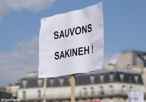 [VIDEO] Manifestation pour Sakineh à Paris : on y était !