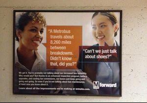 Washington : une pub pour le métro taxée de sexisme
