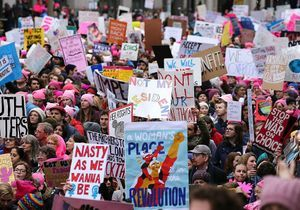 On y était - Women's March : une nuée de féministes a envahi Washington