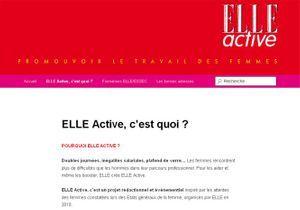 """Le blog """"Elle active"""""""