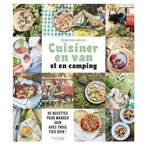 Livre Cuisiner en van et en camping