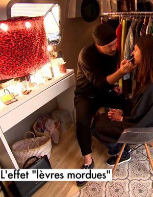 Conseil make-up : l'effet lèvres mordues