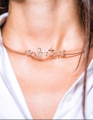 L'instant mode : Le collier personnalisé d'Atelier Paulin