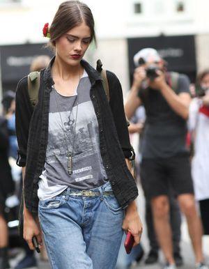 Street style : elles portent bien le look boyfriend