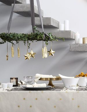 D co no l 2016 les id es de d corations tendances pour for Idee deco table de noel