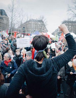 #8mars15h40 : le rassemblement pour l'égalité en 20 photos