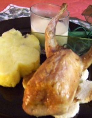 Caille de no l recettes de caille de no l elle for Cailles sur canape