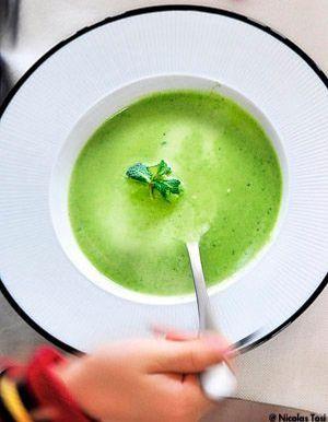 soupes froides recettes