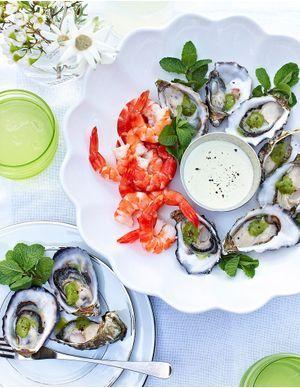 Recettes d'huîtres