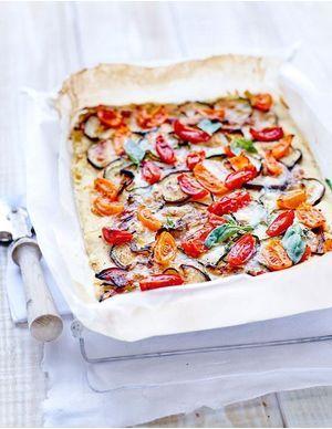 Recettes de pizzas végétariennes