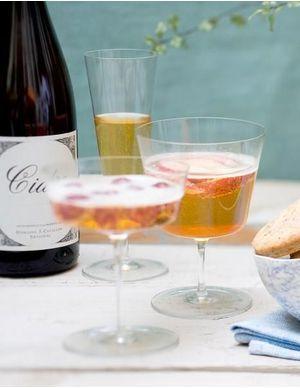 Recettes de cocktails au cidre
