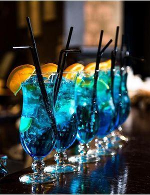 Recettes de cocktails au curaçao