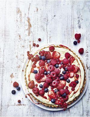 Recettes de tartes aux fruits rouges