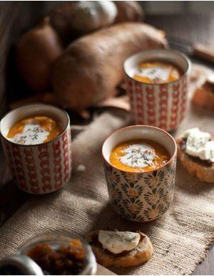 Recettes de soupes chaudes