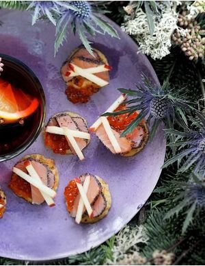 Toasts Noël