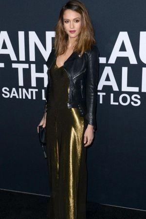Jessica Alba, Lady Gaga, Lenny Kravitz : le premier rang sélect du défilé Saint Laurent