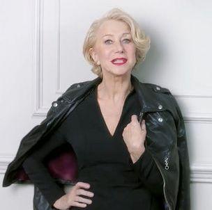 Prêt-à-liker : Helen Mirren se fait cougar pour L'Oréal Paris