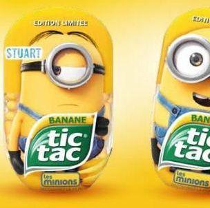 Exclu : Tentez de remporter votre Minion Tic Tac à la banane !
