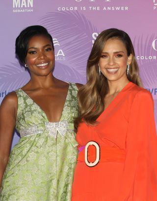 Jessica Alba et Gabrielle Union nous livrent leurs secrets beauté de tournage