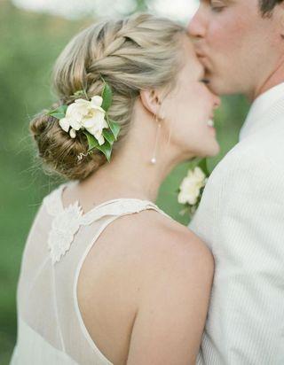 Je veux un joli chignon de mariée !