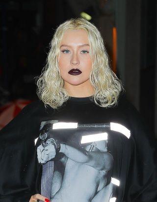 Christina Aguilera prouve que ce fer à boucler à un prix imbattable fait des beaux cheveux