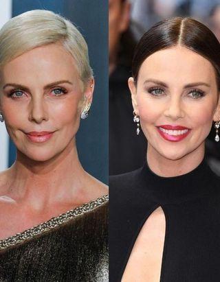 L'évolution coiffure de Charlize Theron en 24 looks