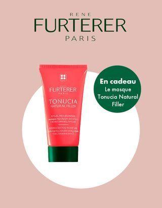 Cheveux affinés, fatigués ? ELLE vous offre le masque Tonucia Natural Filler de Rene Furterer !