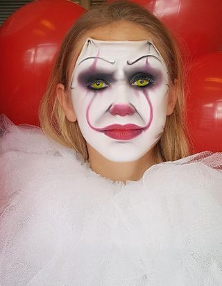 Comment faire le maquillage du clown Ça