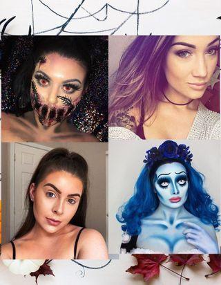 Avant - après : ces maquillages Halloween vont vous faire halluciner