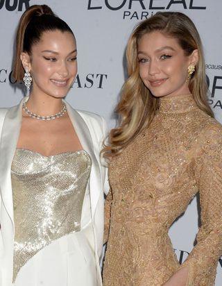 Bella Hadid et Gigi Hadid posent nues et elles sont sublimes