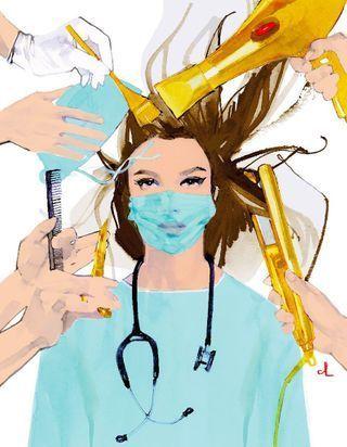 Déconfinement : des coiffeurs mobilisés pour les soignants