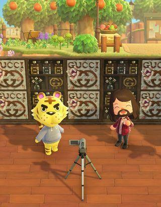 Gucci Beauty vous donne rendez-vous sur Animal Crossing™ avec Jared Leto